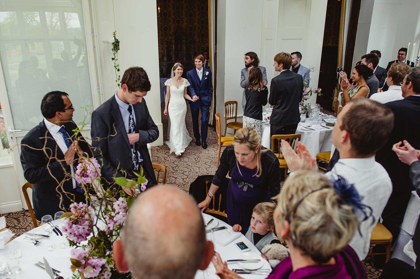 Wedding Photographer at The Elvetham Hotel