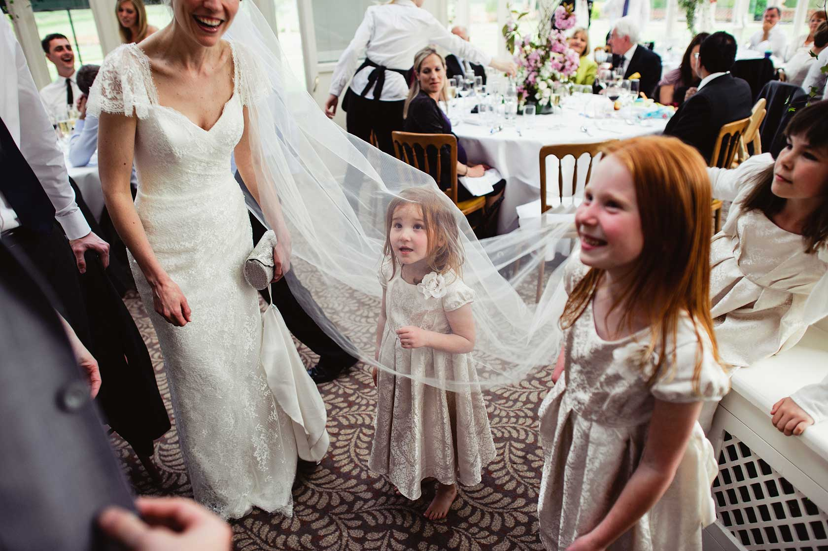 Reportage Wedding Photography at The Elvetham Hotel