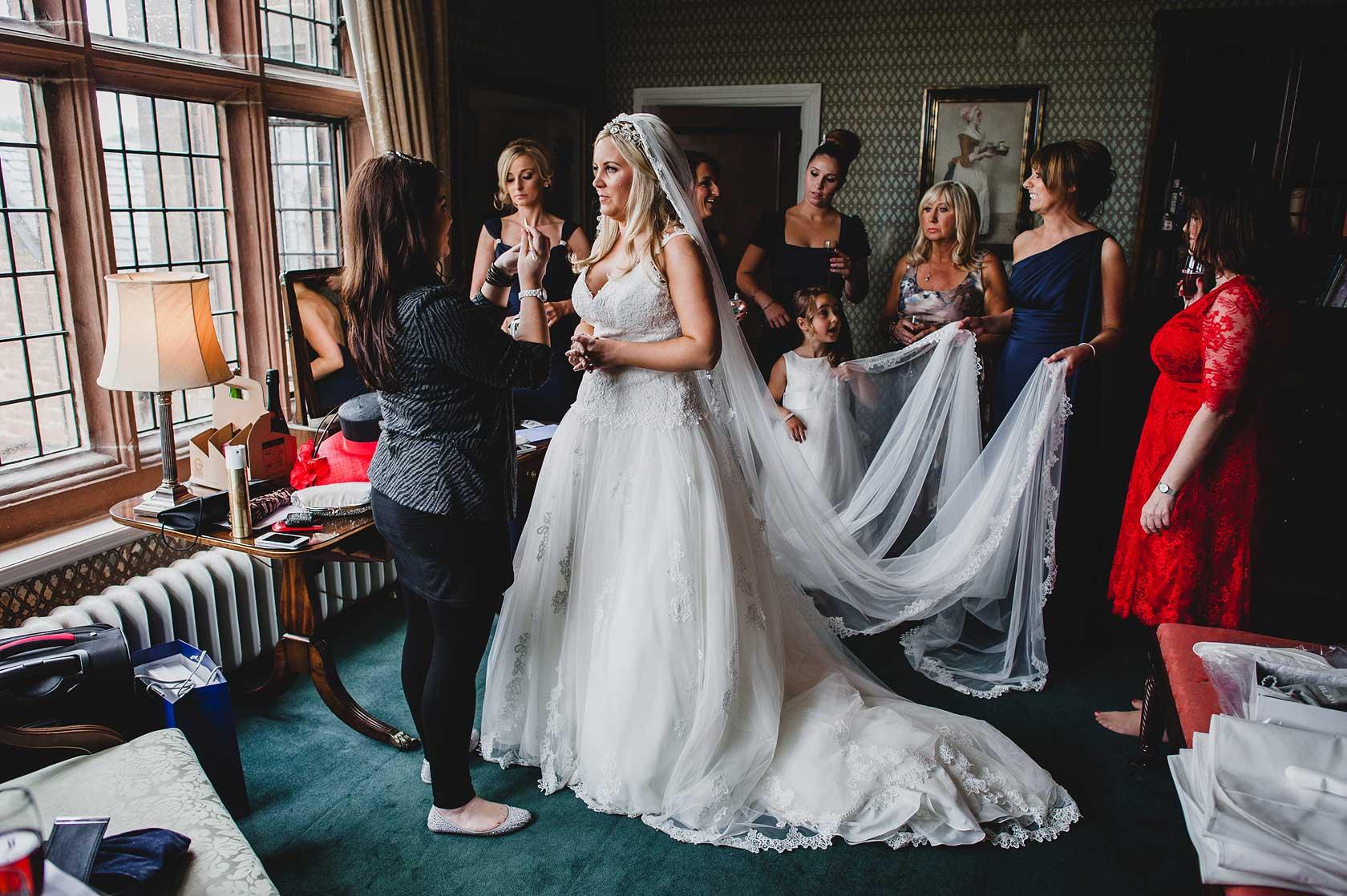 Wedding Photographer at Thornton Manor