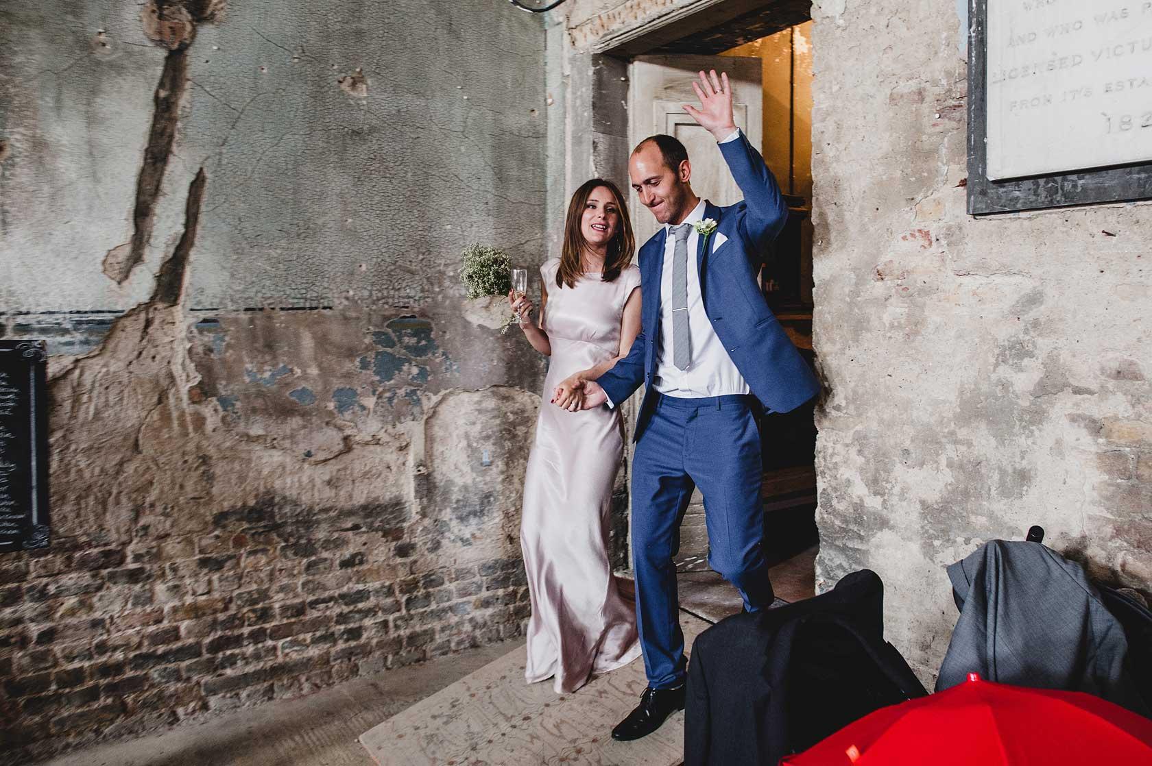 Wedding at Caroline Gardens Chapel