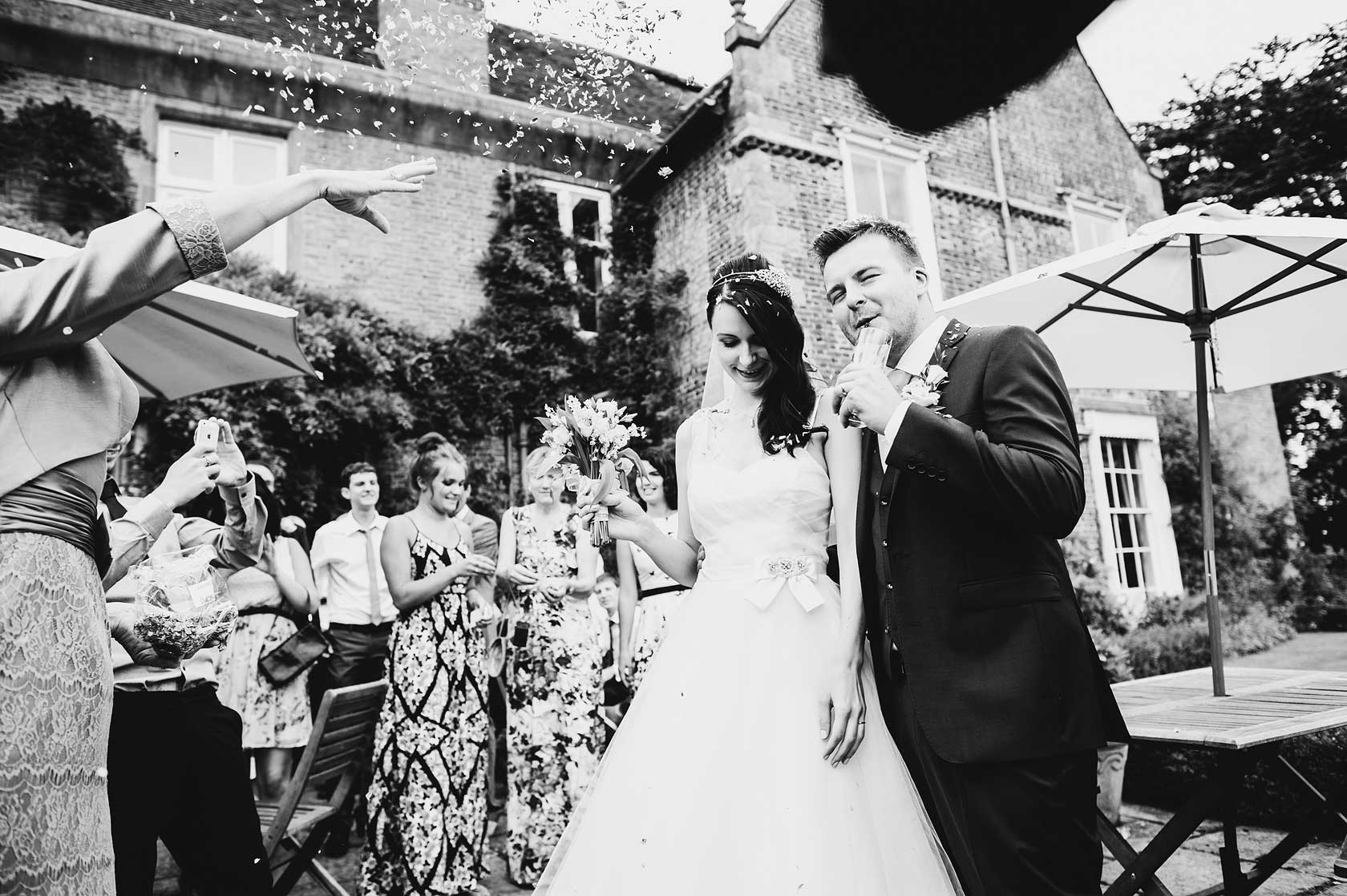Langley Priory Wedding in Derbyshire
