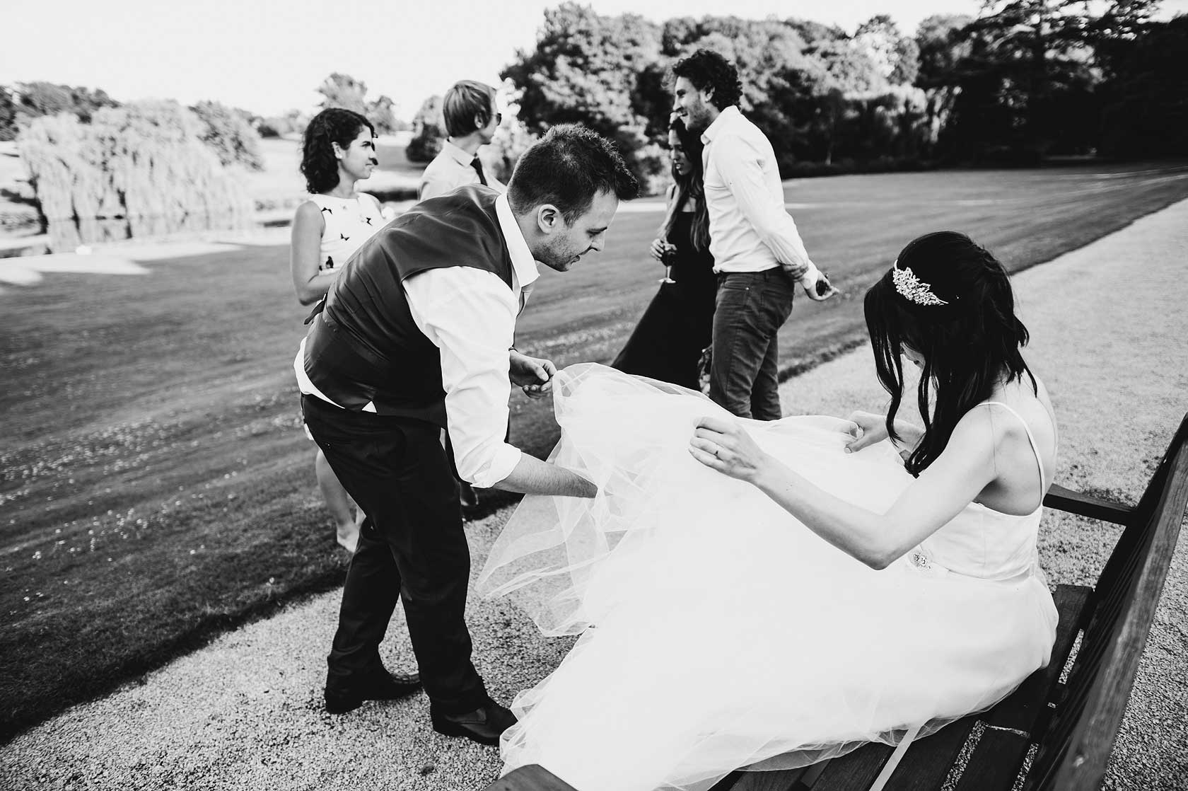Langley Priory Wedding Photography