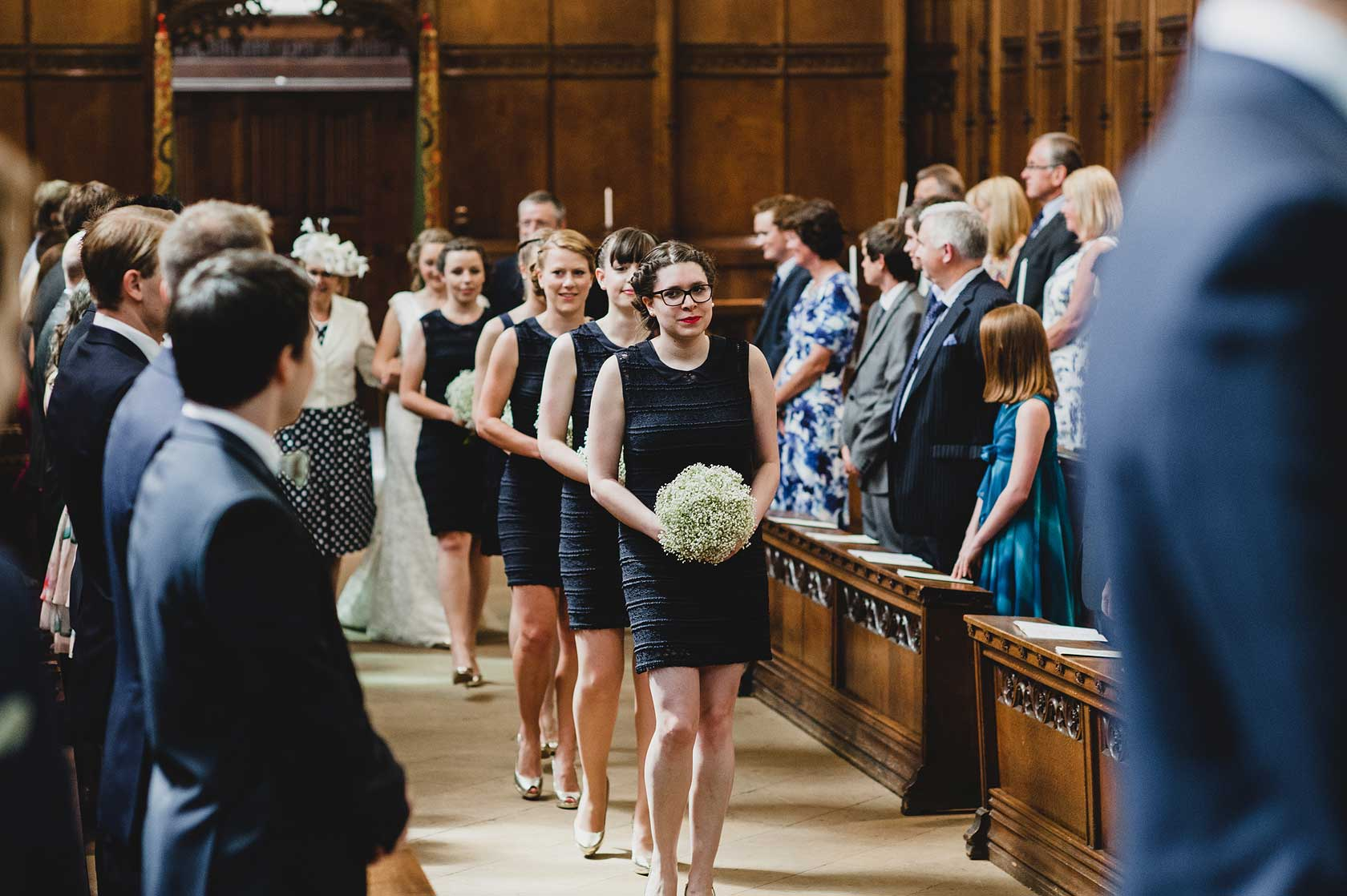 Reportage Wedding Photography at Queens College