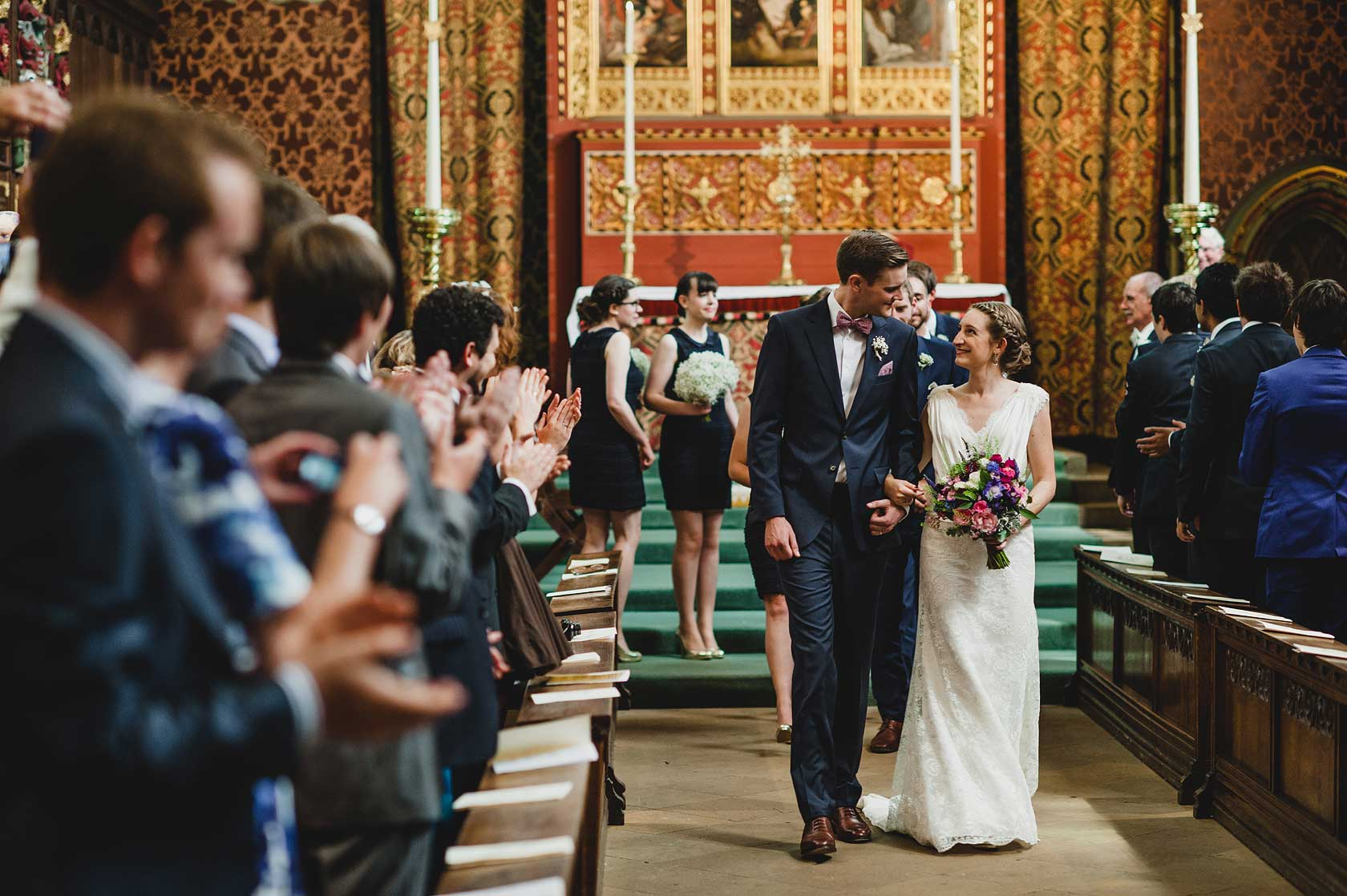 Wedding Photojournalism at Queens College