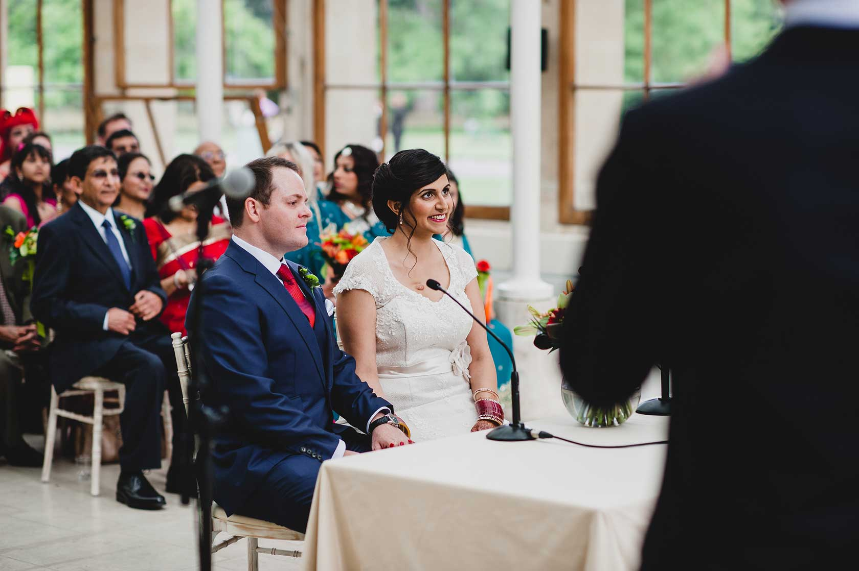 Wedding Photographer at Kew Gardens