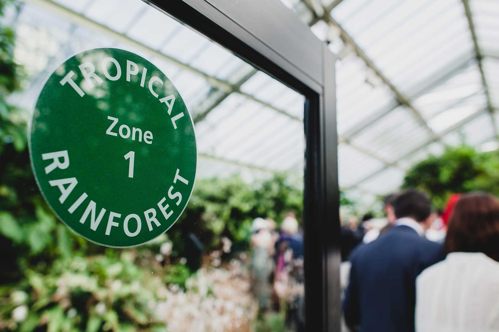 Wedding Photojournalism at Kew Gardens