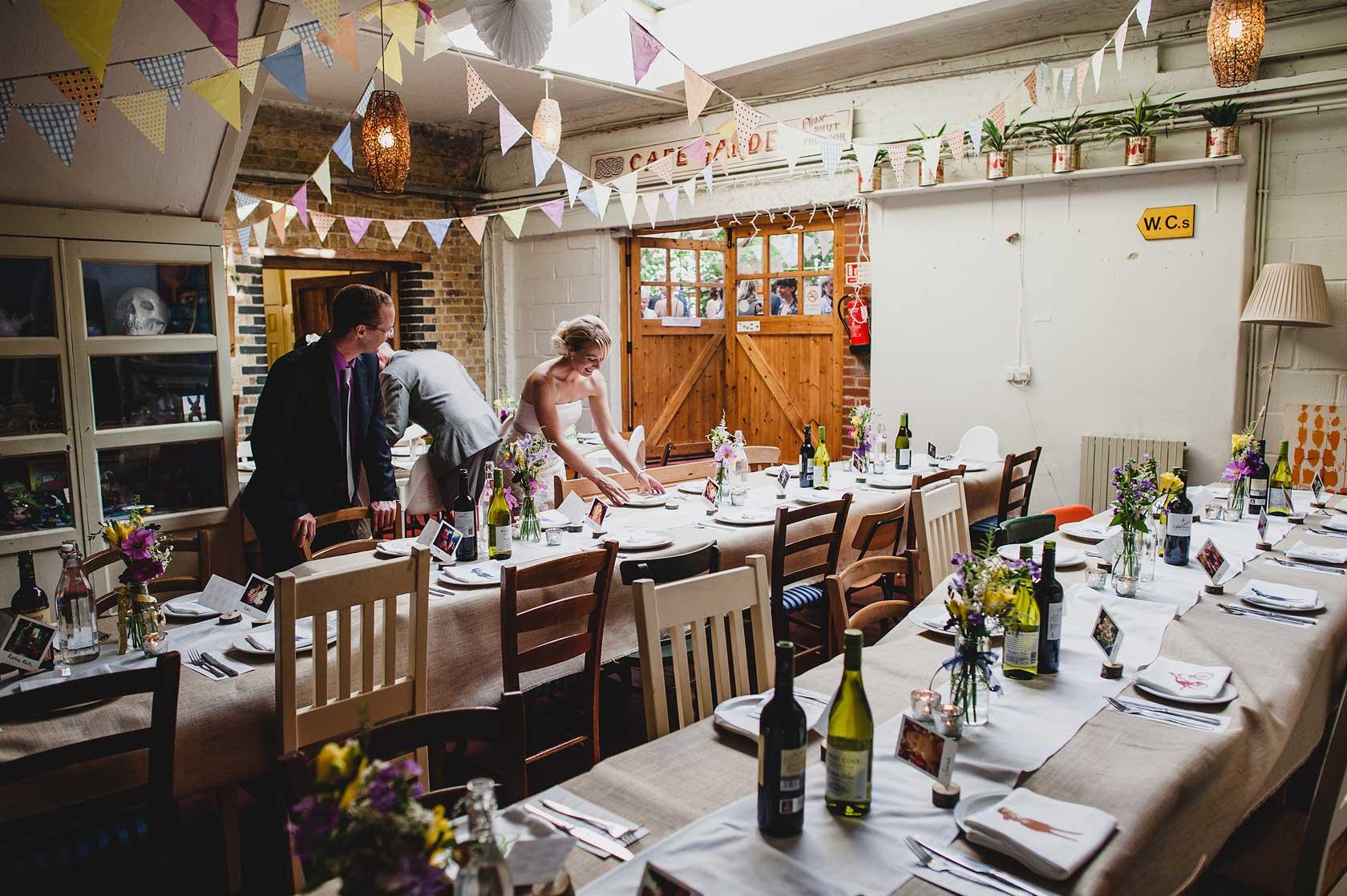 Hackney City Farm Wedding Photography