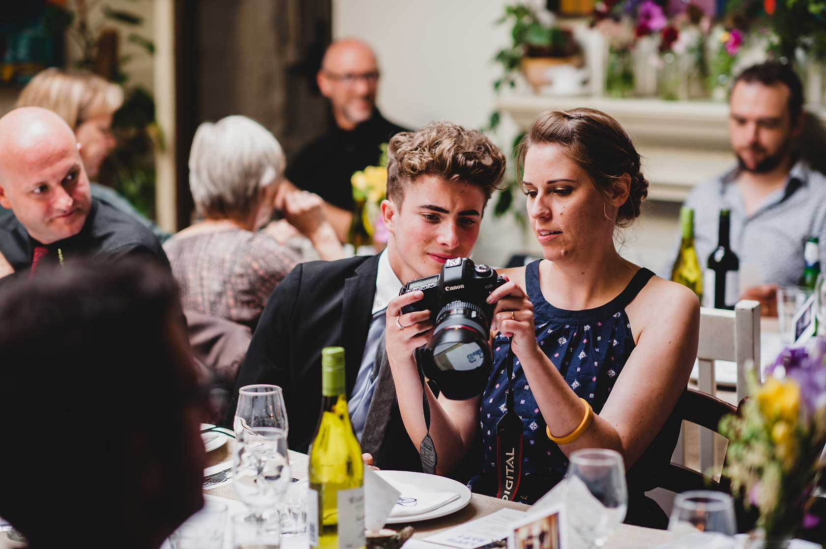 Wedding Photojournalism at Town Hall Hotel
