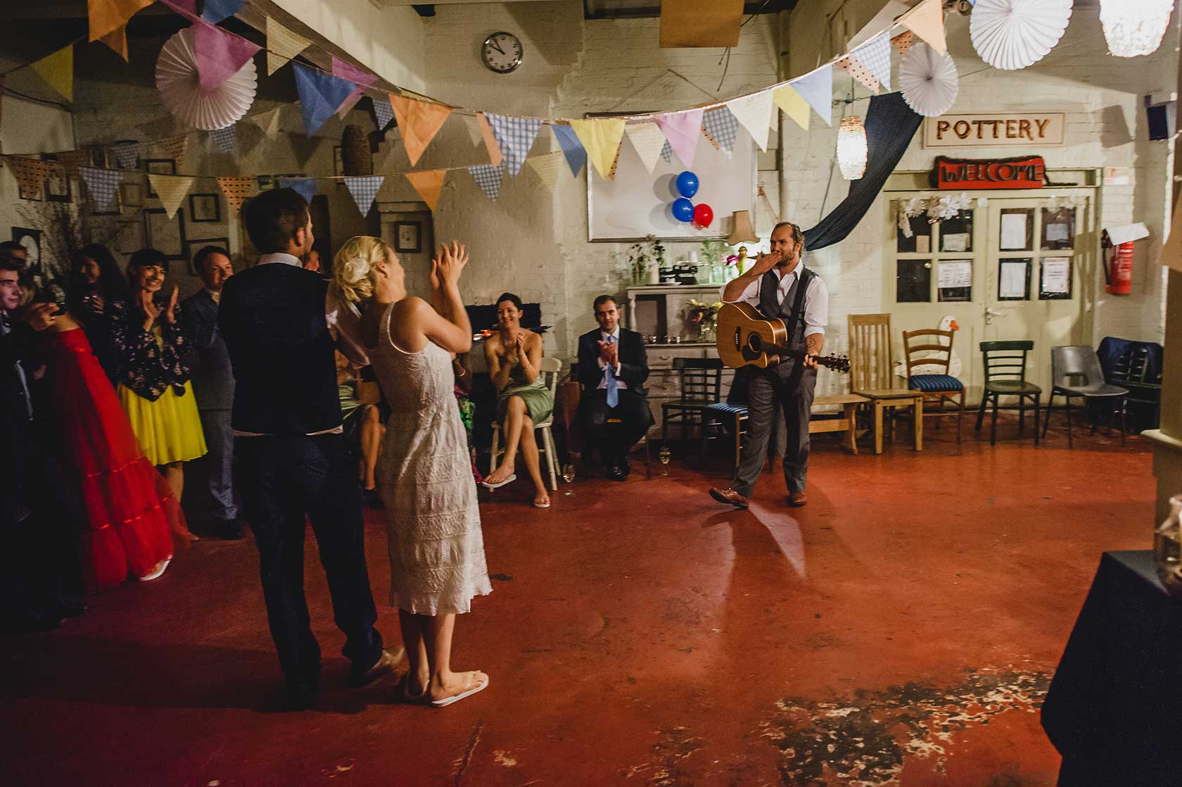 Wedding at Hackney City Farm
