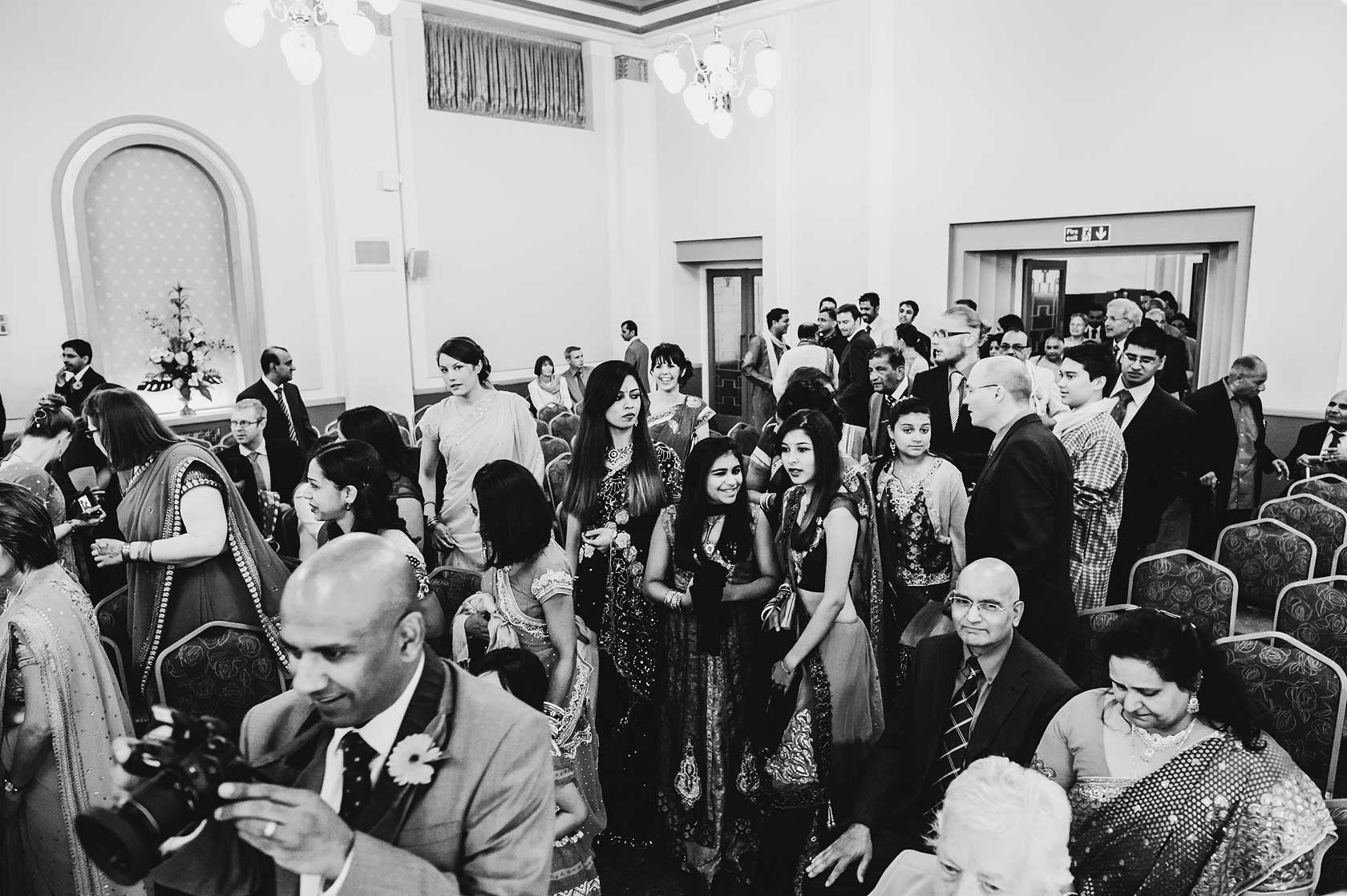 Wedding Photojournalism at Devonshire Place