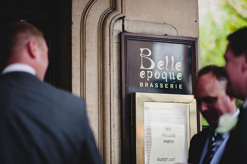 Wedding at The Belle Epoque