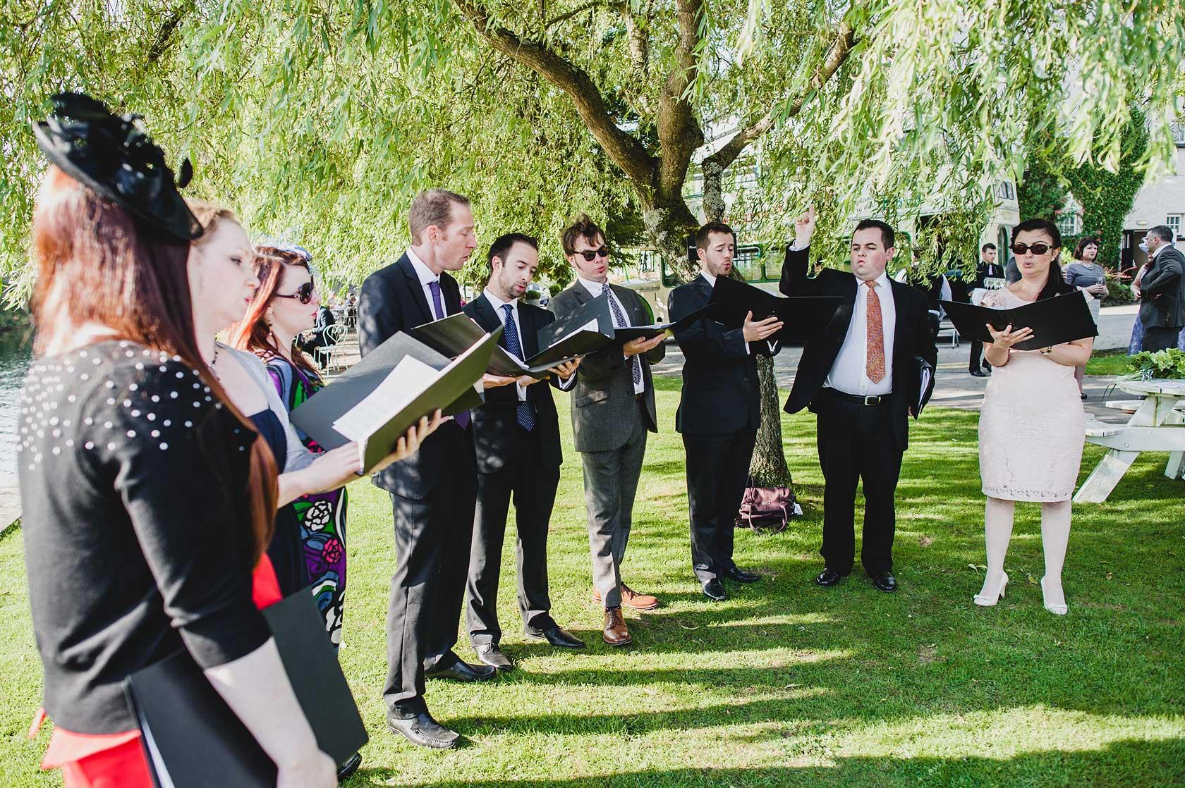 Wedding in Newby Bridge