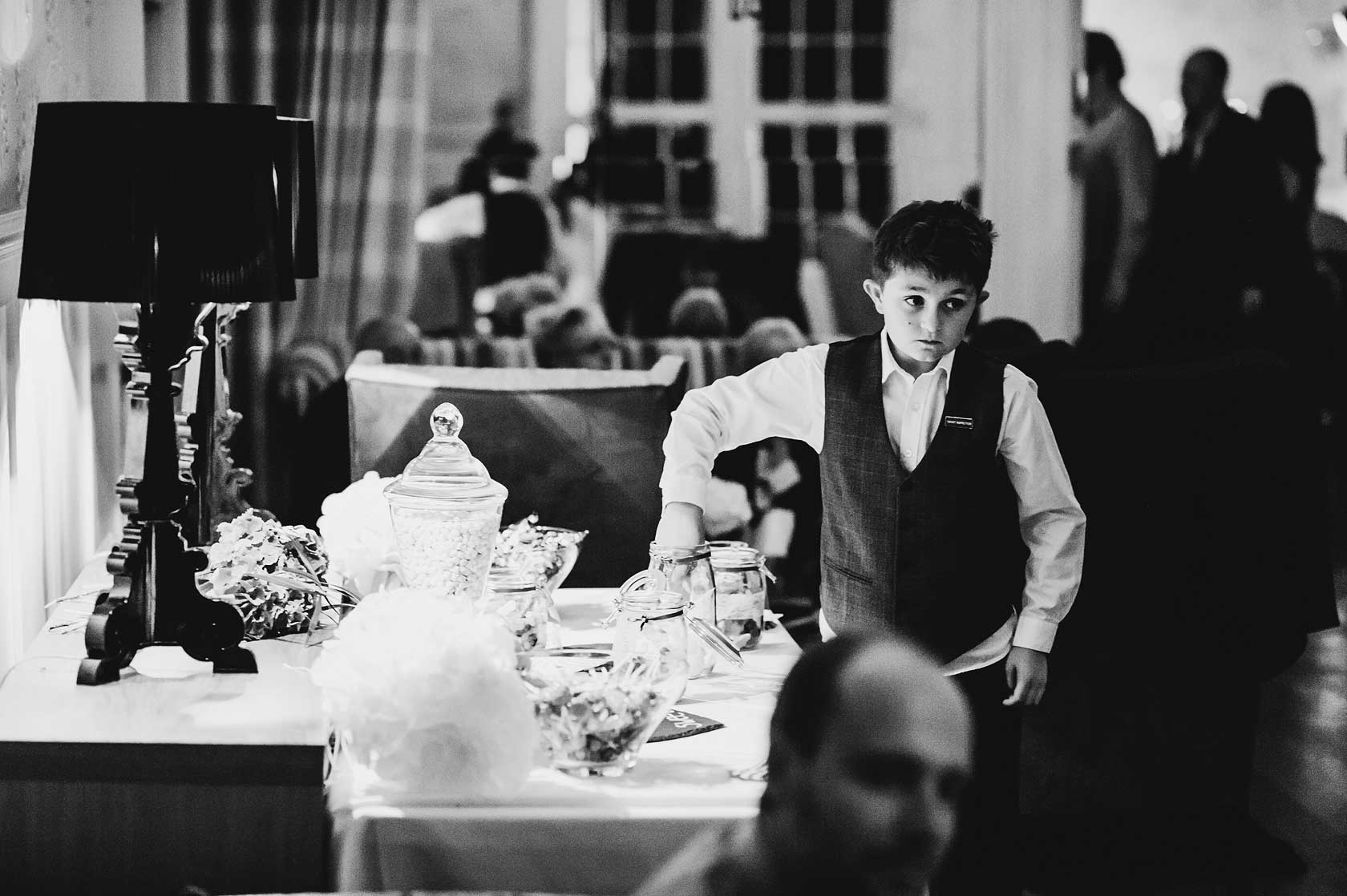 Wedding Photographer at The Swan Hotel