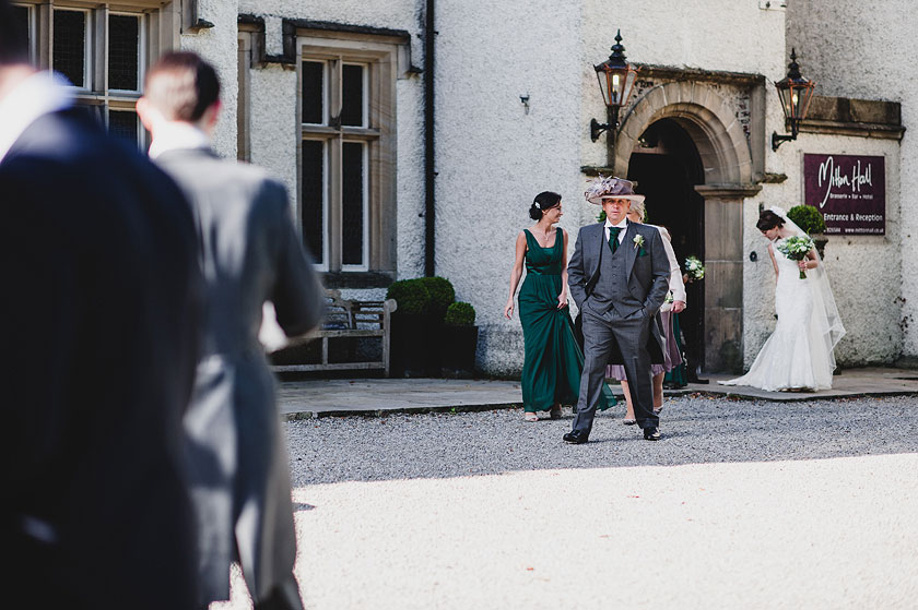 Reportage Wedding Photography at Mitton Hall