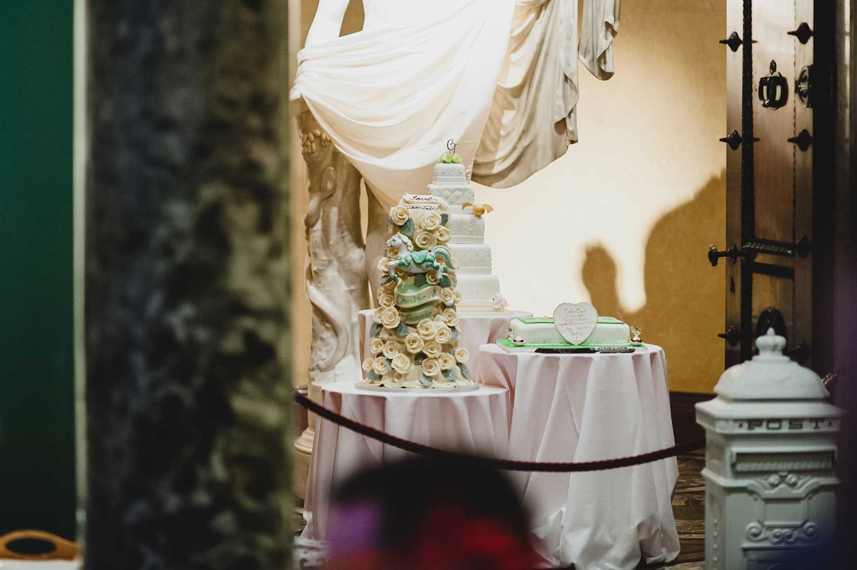 Sculpture Gallery Wedding Photography