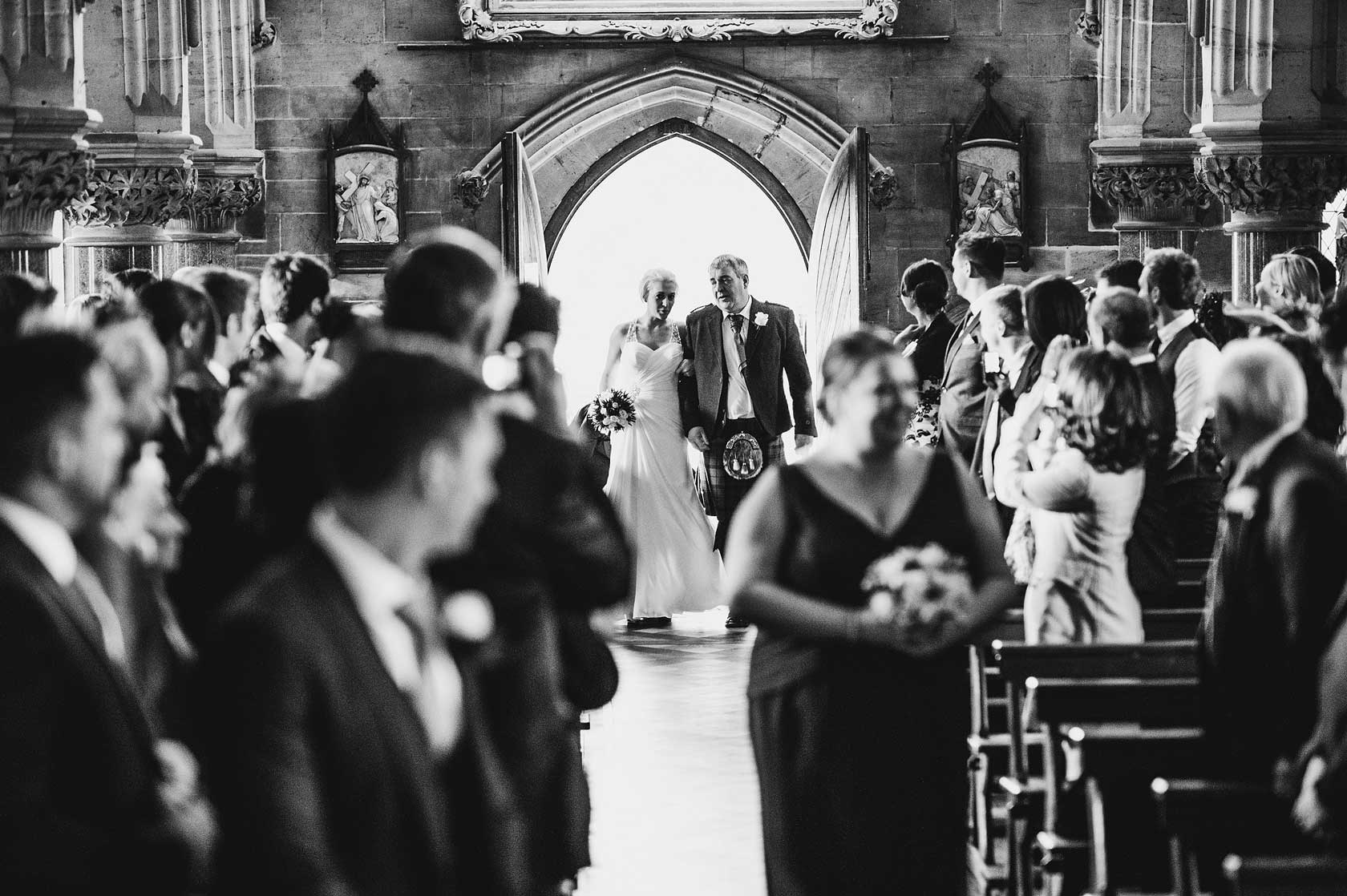Reportage Wedding Photography in North Yorkshire