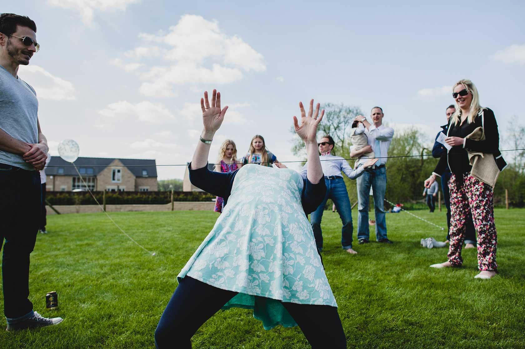 Post-Wedding Party in Derbyshire