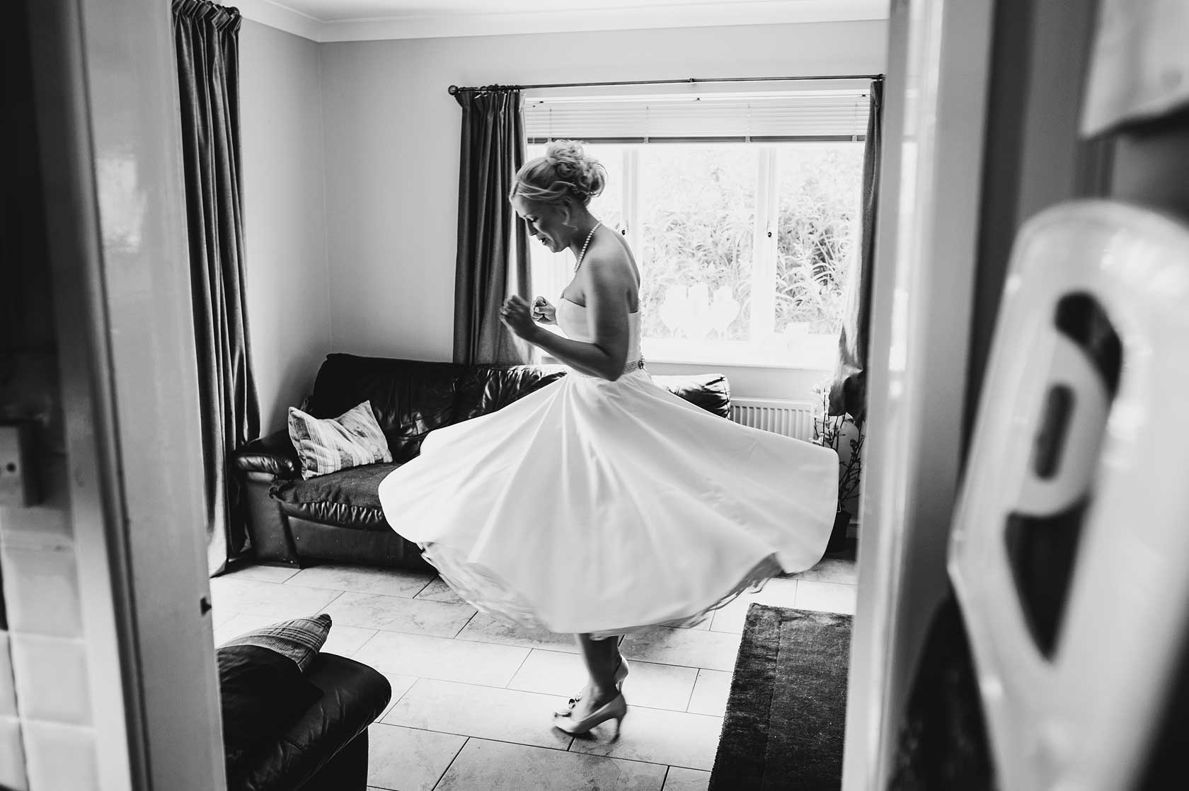 Wedding Photographer at Eccleston Village Hall