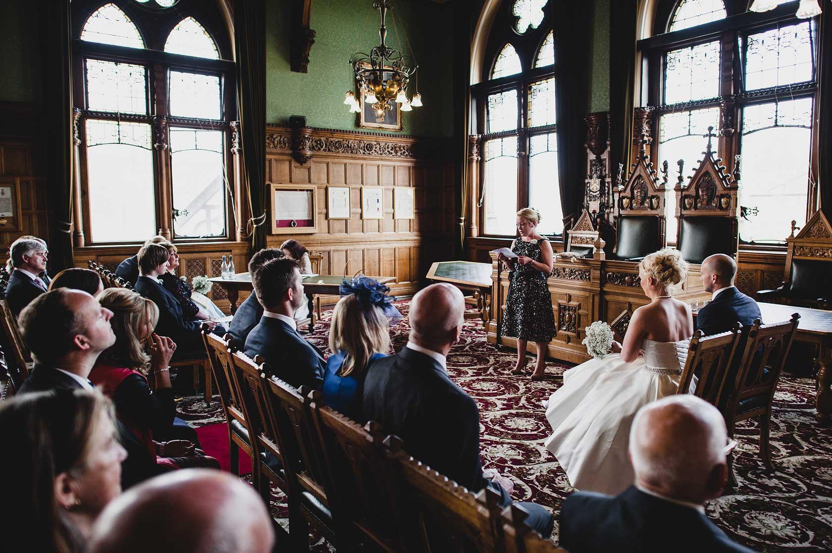 Wedding at Chester Town Hall