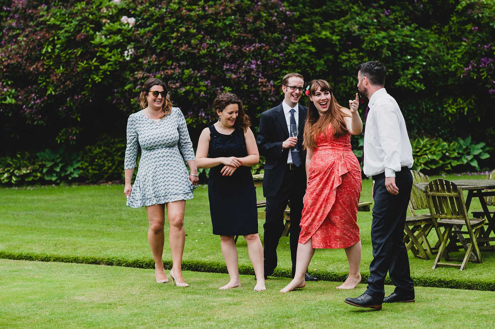 Eaves Hall Wedding in Clitheroe