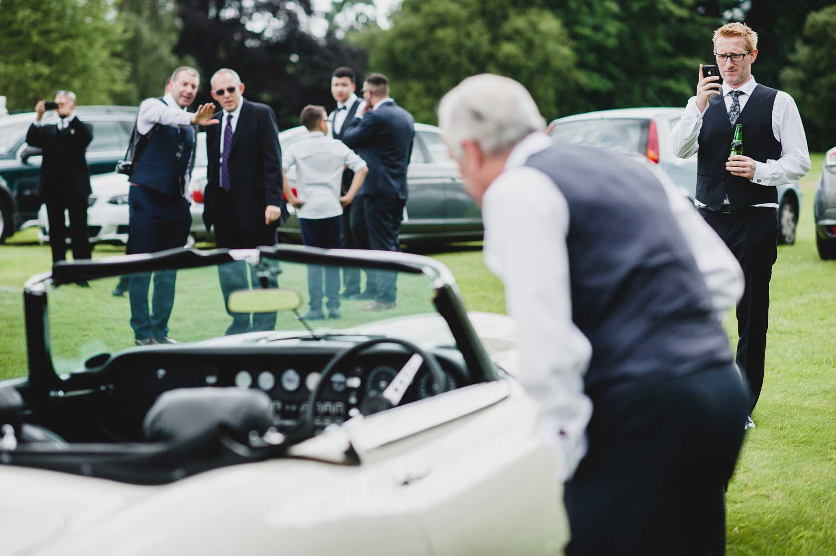Wedding Photojournalism at Osmaston Park