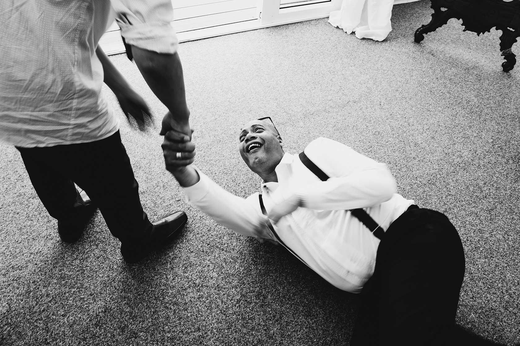 Reportage Wedding Photography at Osmaston Park