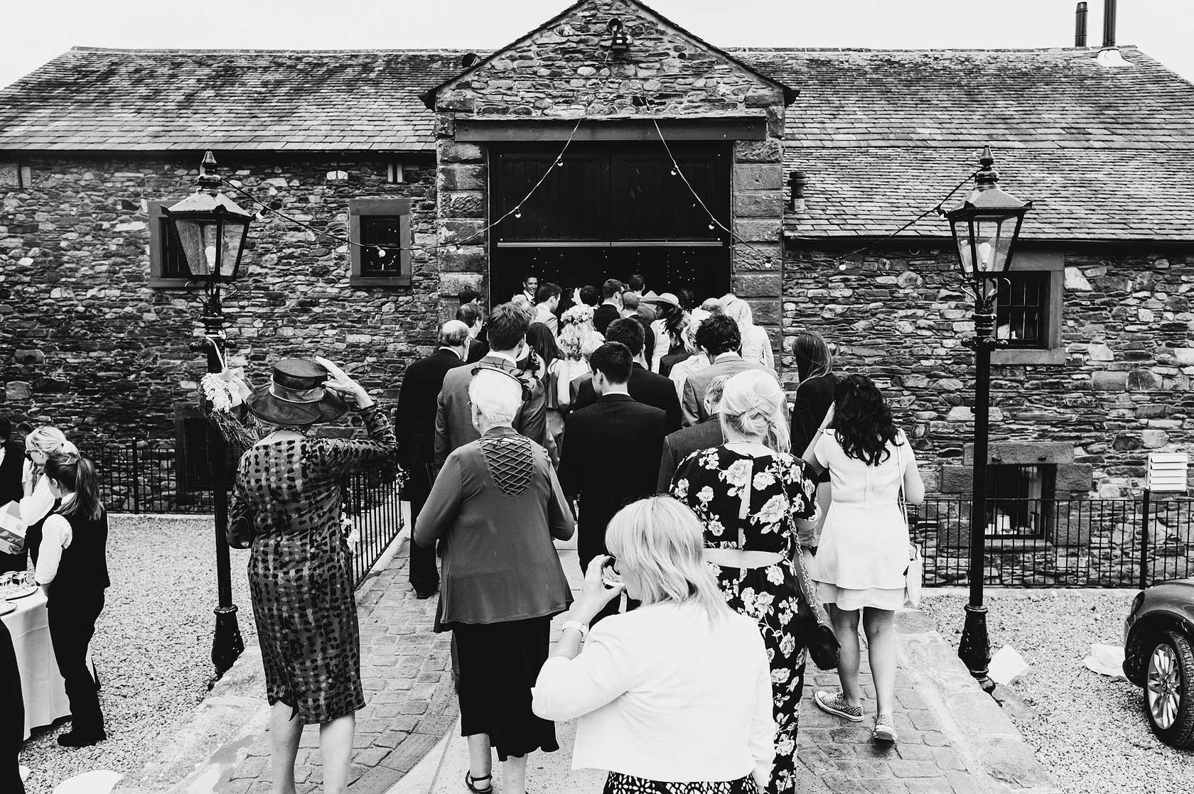 Wedding Photojournalism at New House Farm