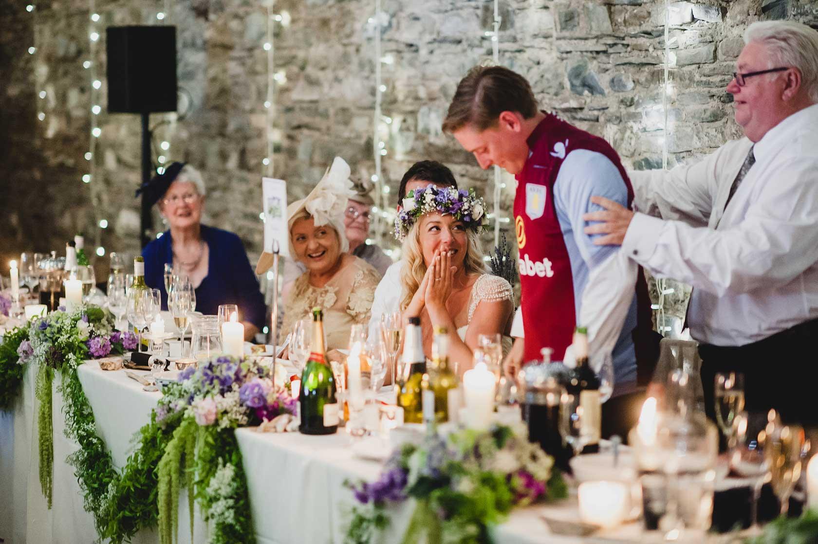 Wedding at New House Farm