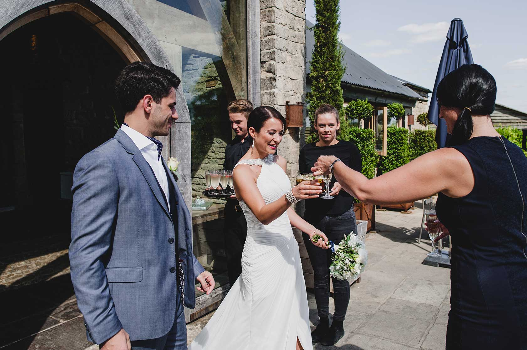Reportage Wedding Photography in Cirencester