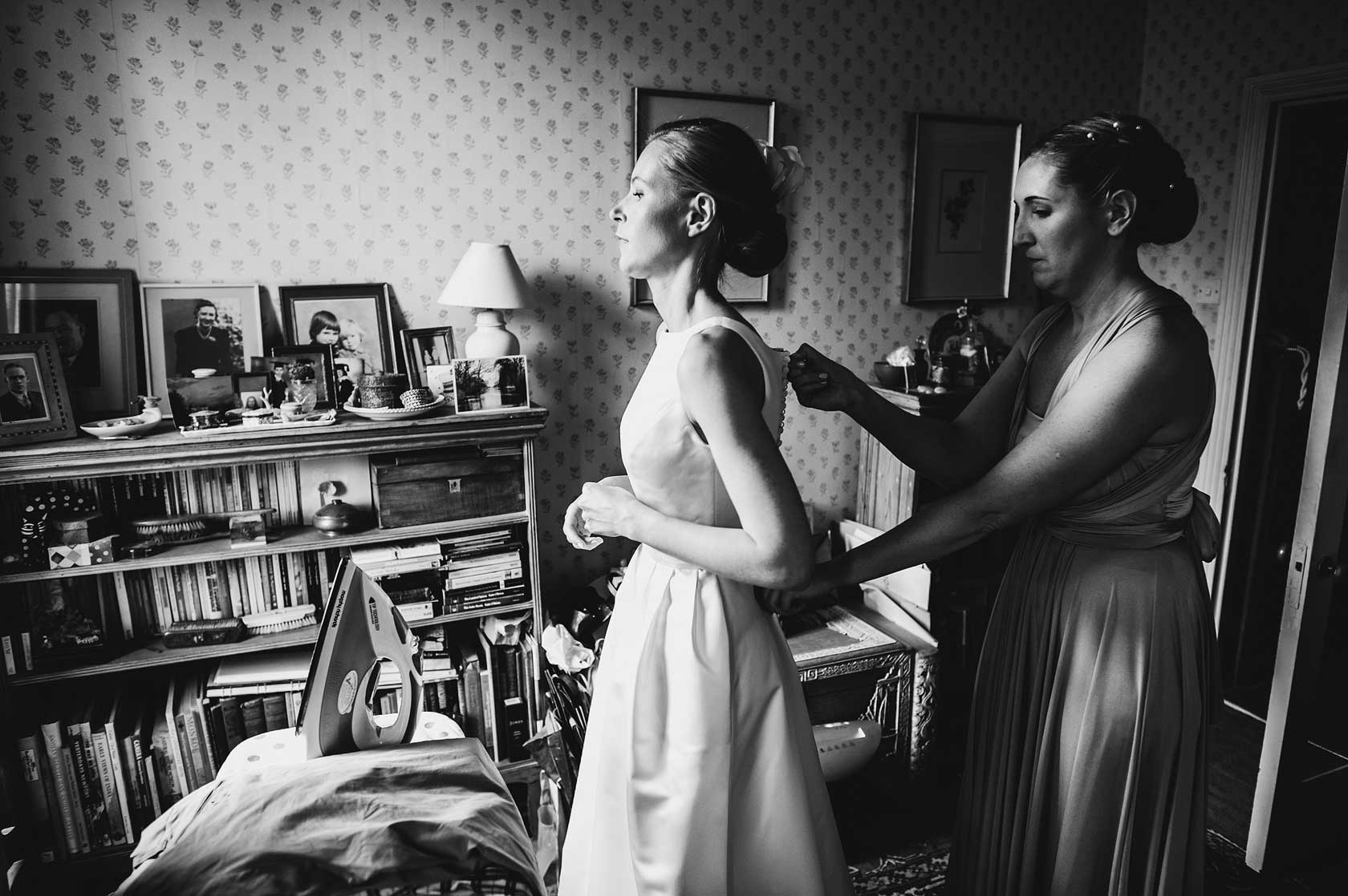 Reportage Wedding Photography at St Barts Hospital