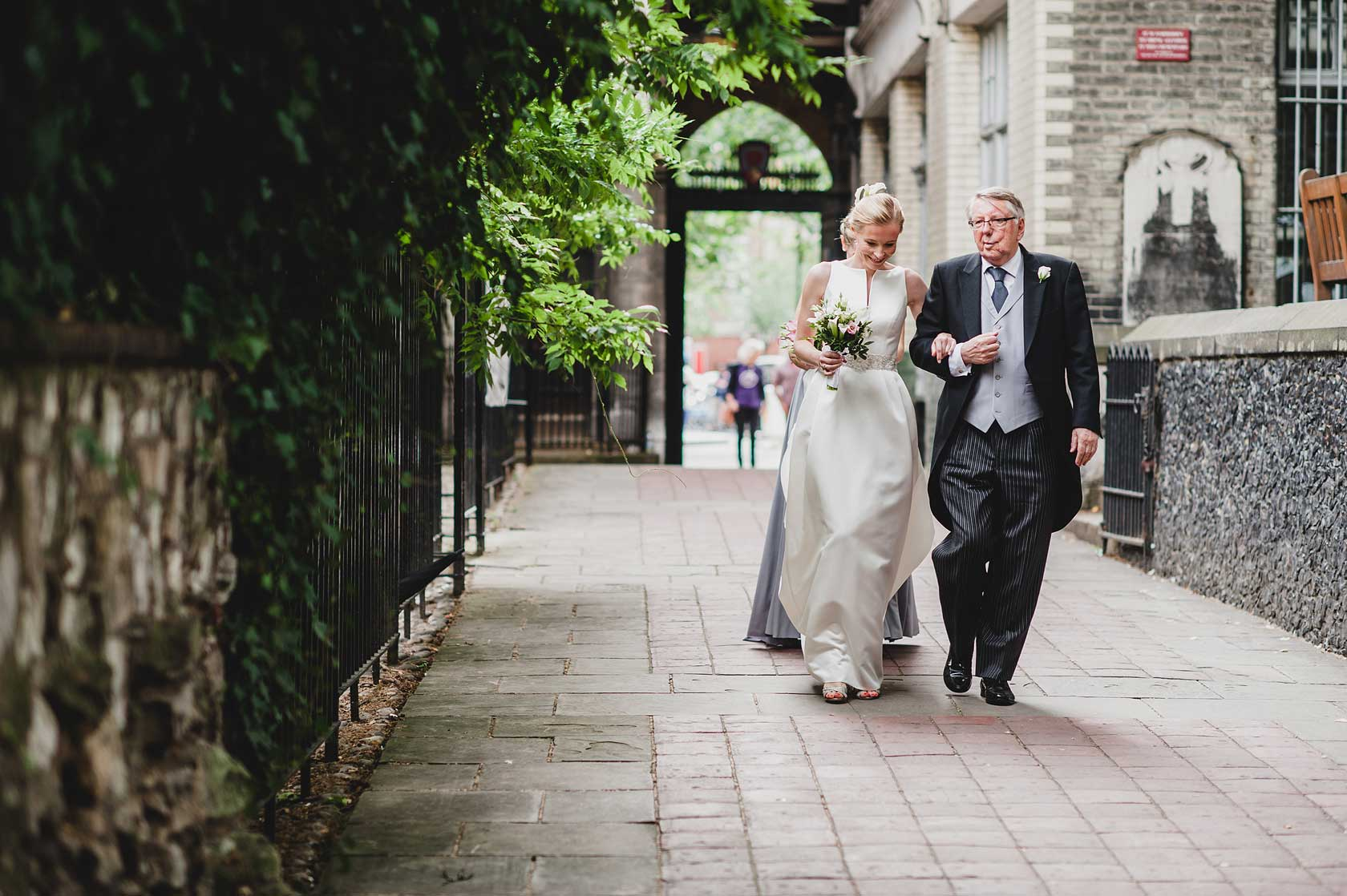 Wedding Photographer at St Barts Hospital