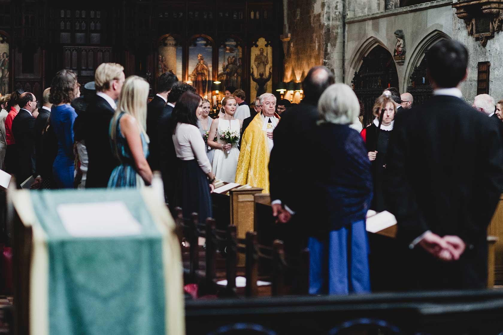 St Bartholomew The Great Wedding Photography