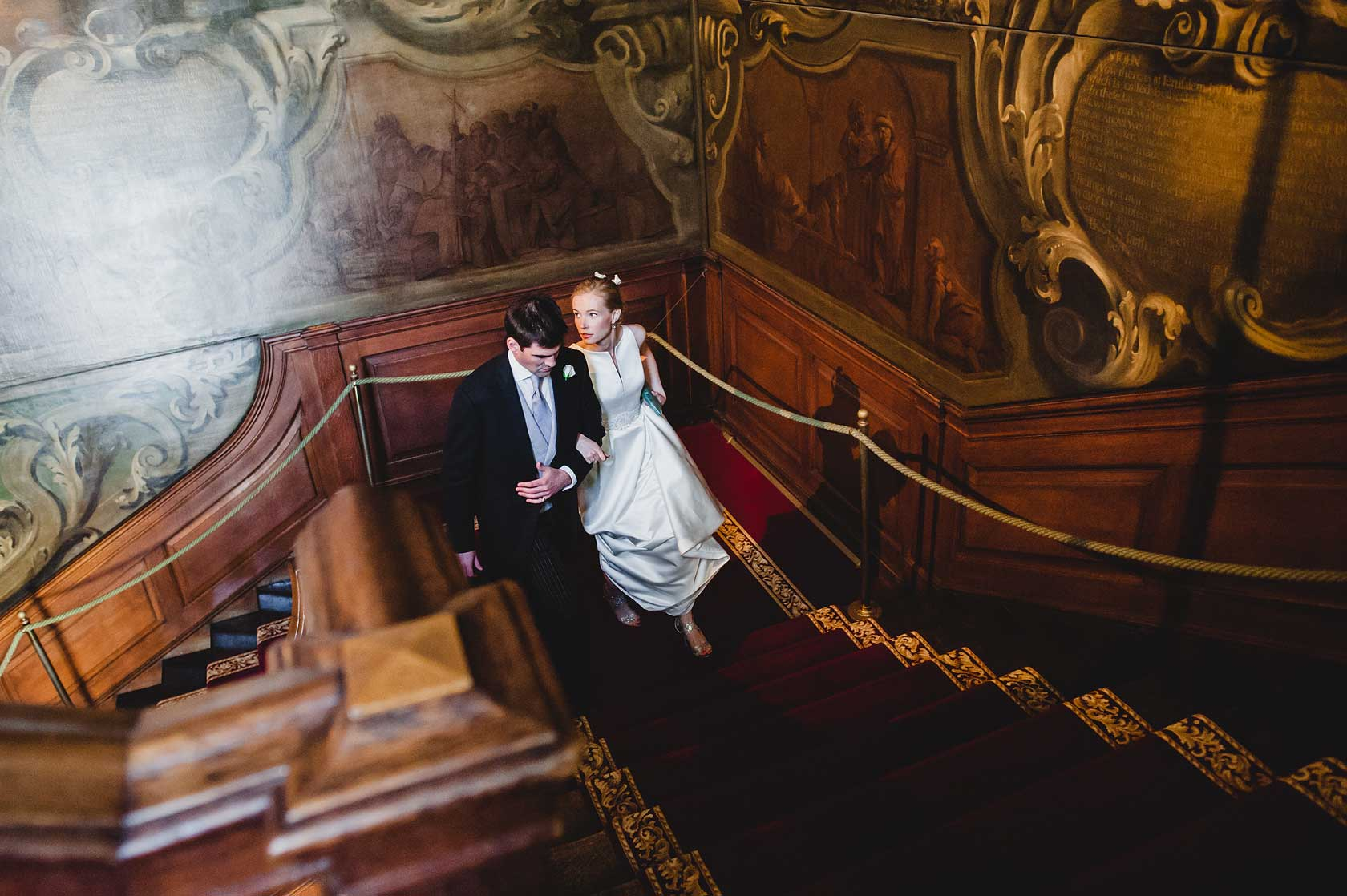 Reportage Wedding Photography at St Barts Hospital