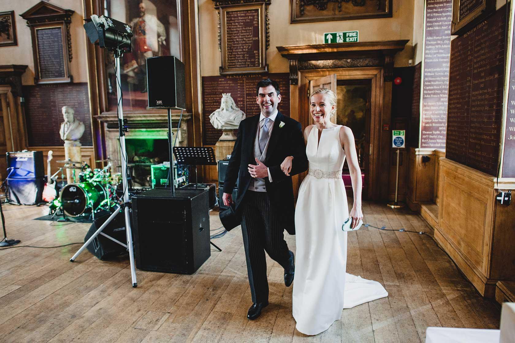 Wedding Photography at St Barts Hospital