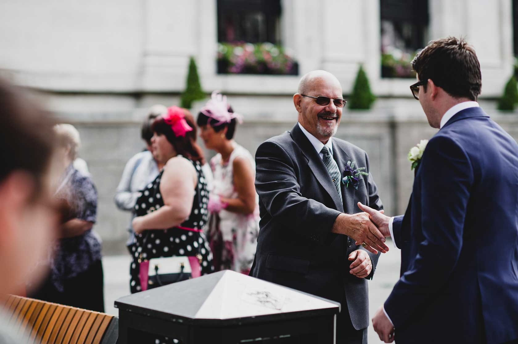 Reportage Wedding Photography at One Lombard Street