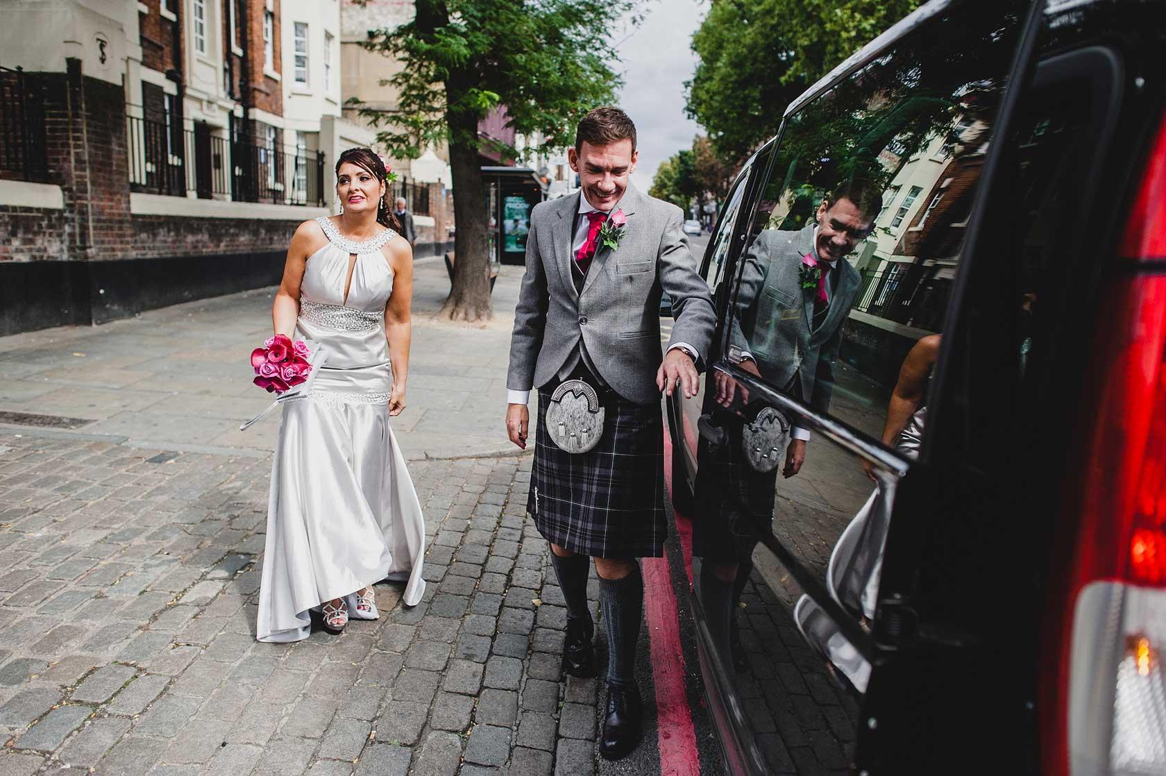 Islington Town Hall Wedding in London