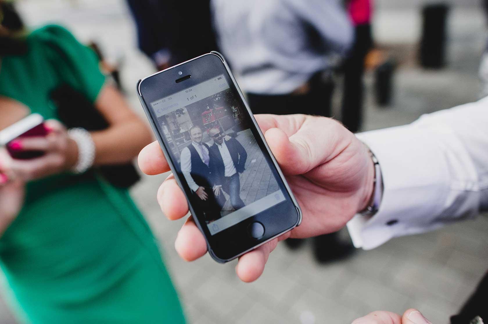 Wedding Photographer at Islington Town Hall