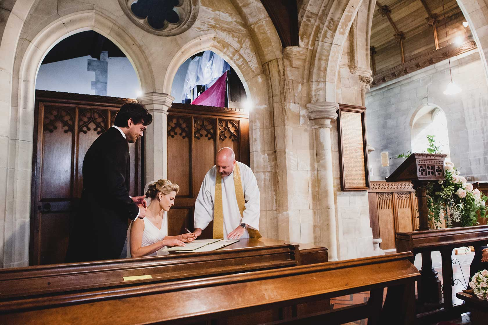 St Paul and St Margaret Church Wedding in Yorkshire