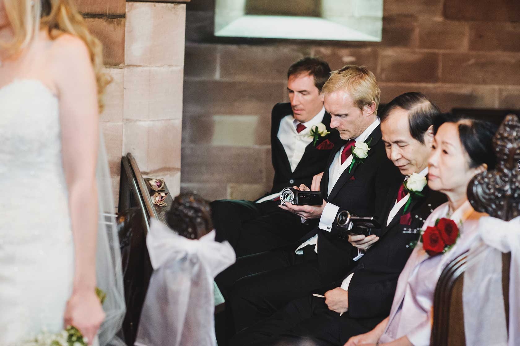 Reportage Wedding Photography at Peckforton Castle