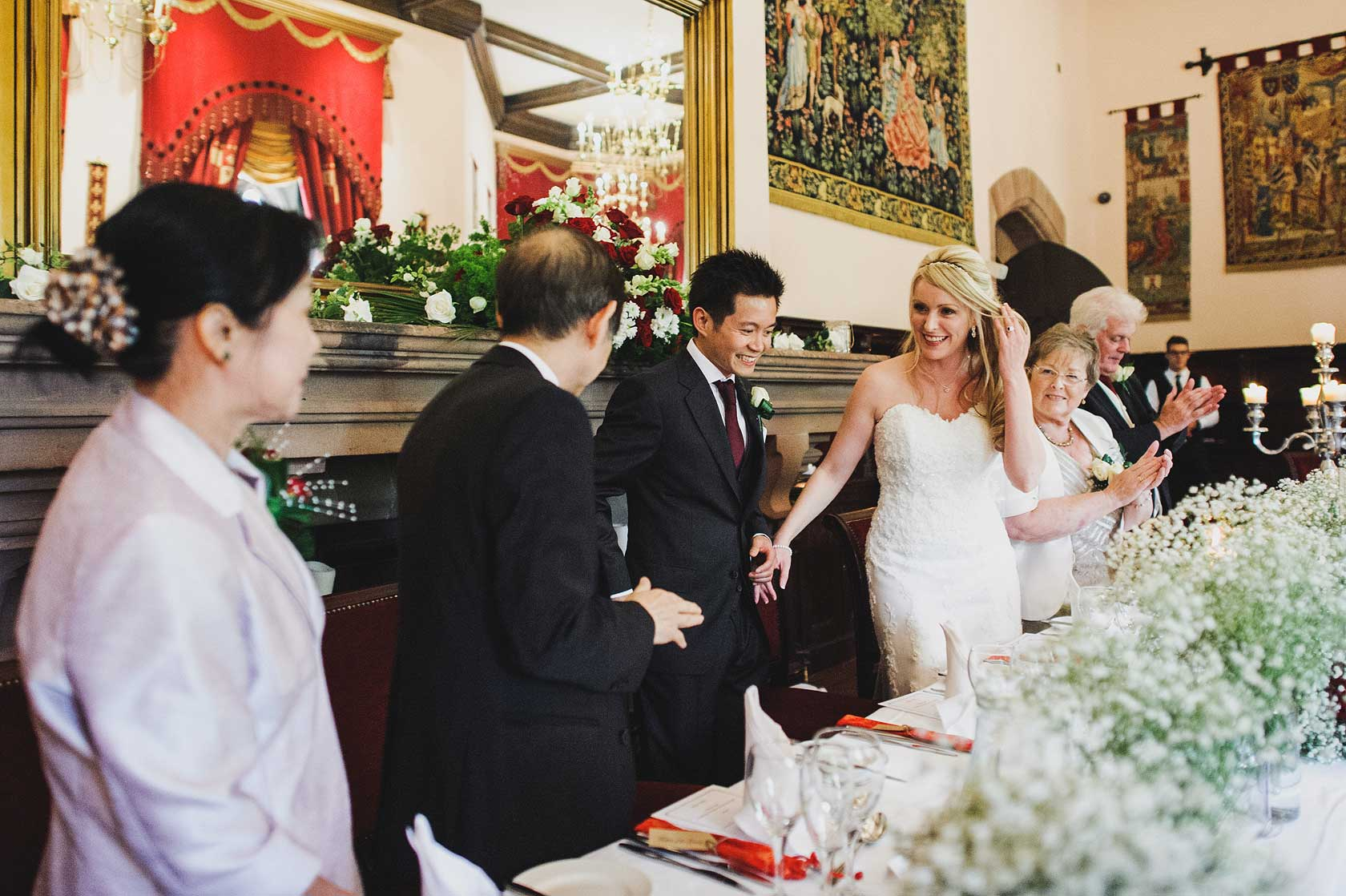 Peckforton Castle Wedding in Cheshire