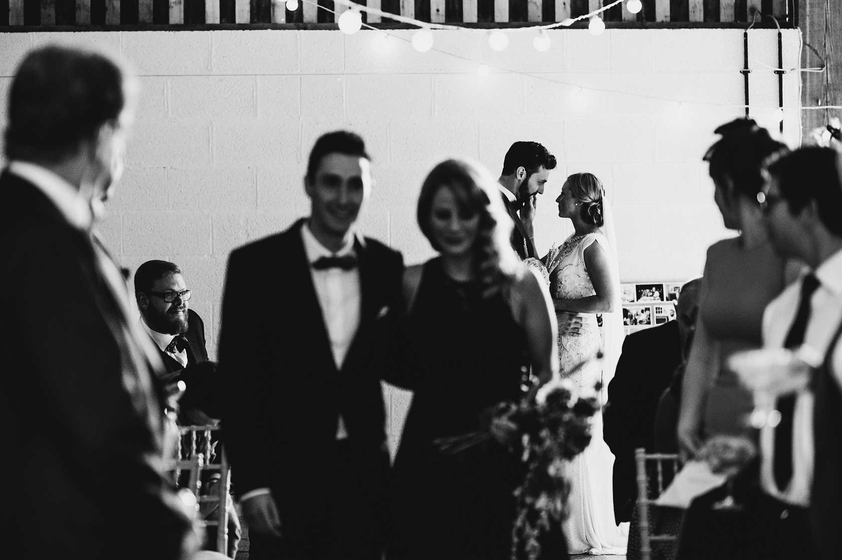 Reportage Wedding Photography at Barmbyfield Barns
