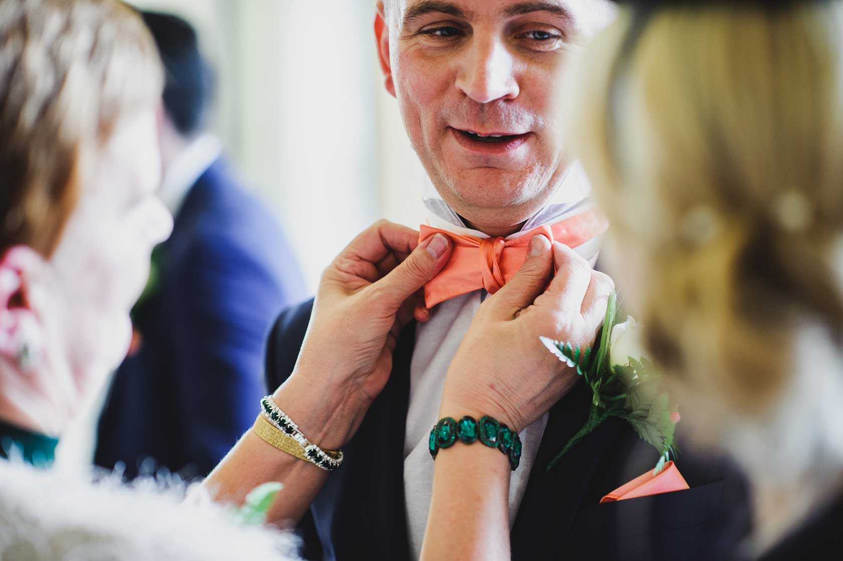 Reportage Wedding Photography at Shottle Hall