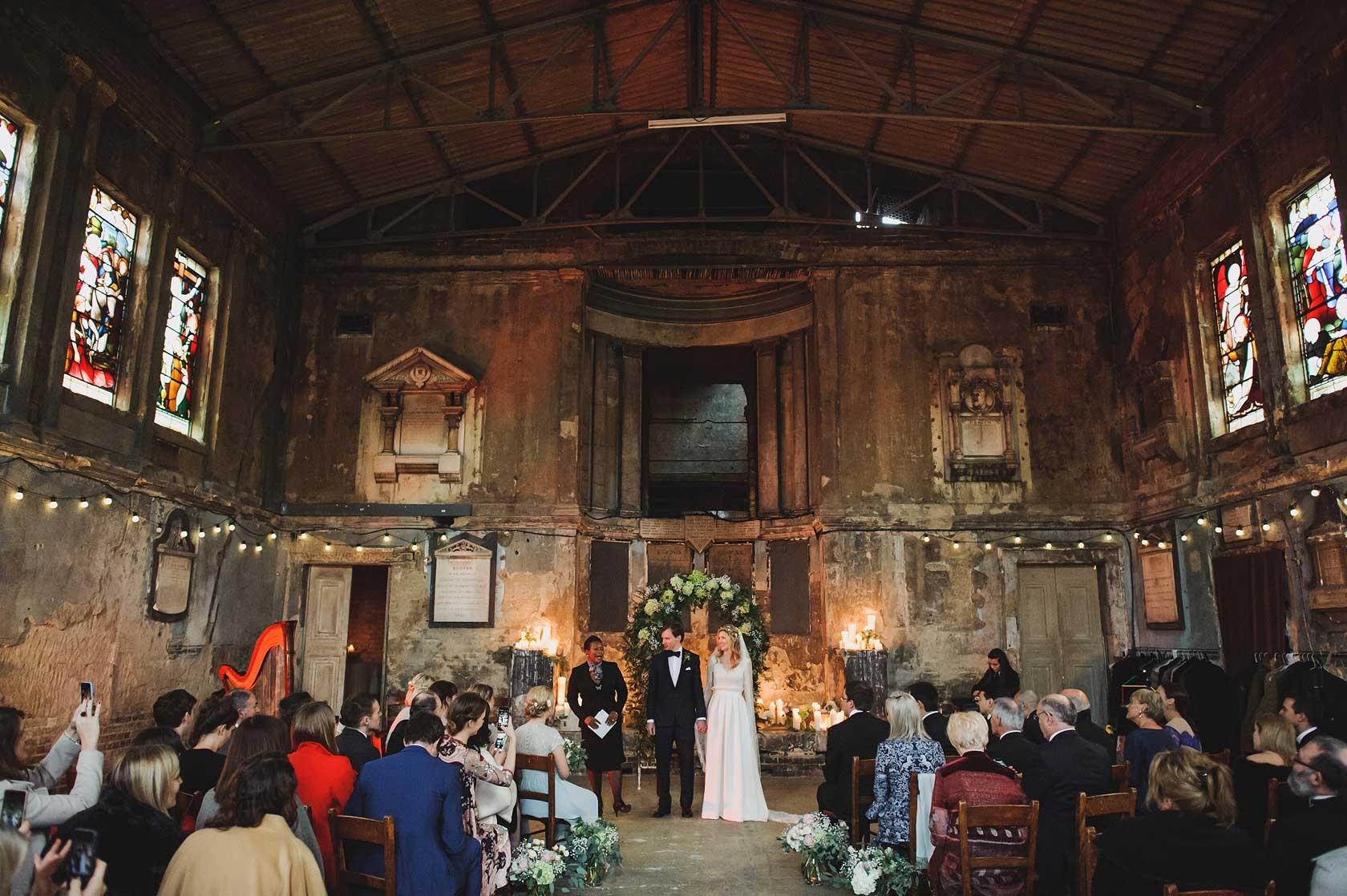 Caroline Gardens Chapel Wedding