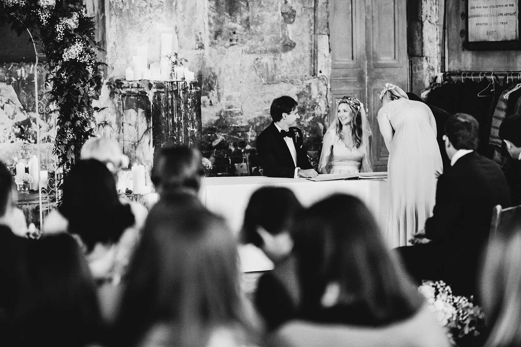 Asylum Winter Wedding in London