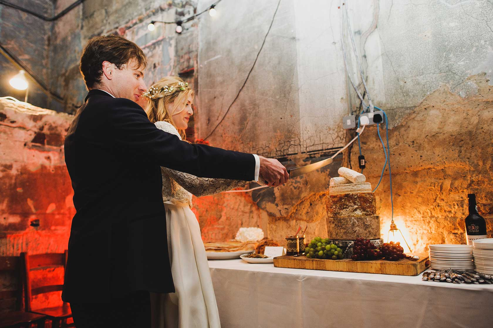 Winter Wedding Photography at Asylum