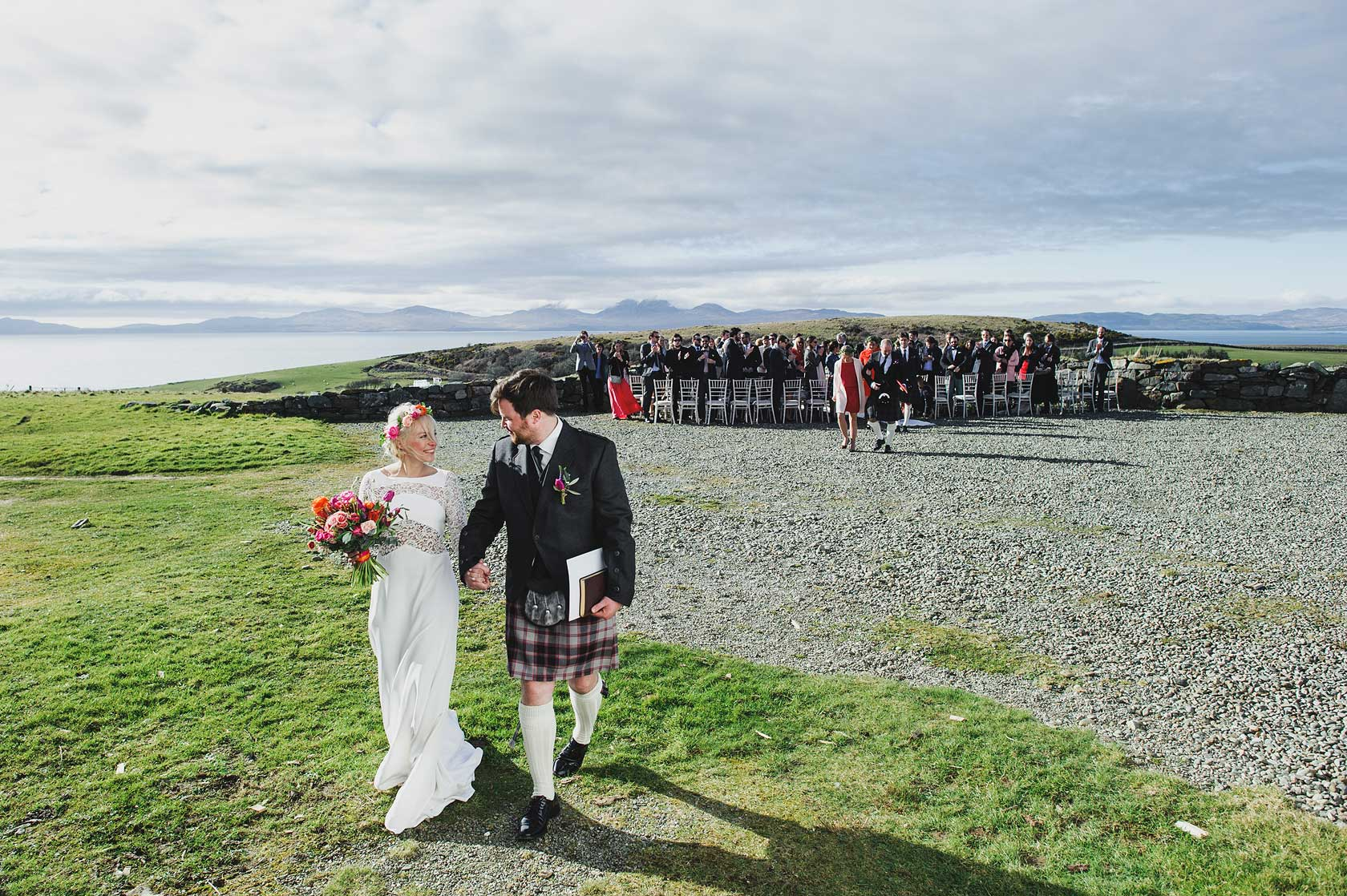 wedding photography at crear in scotland