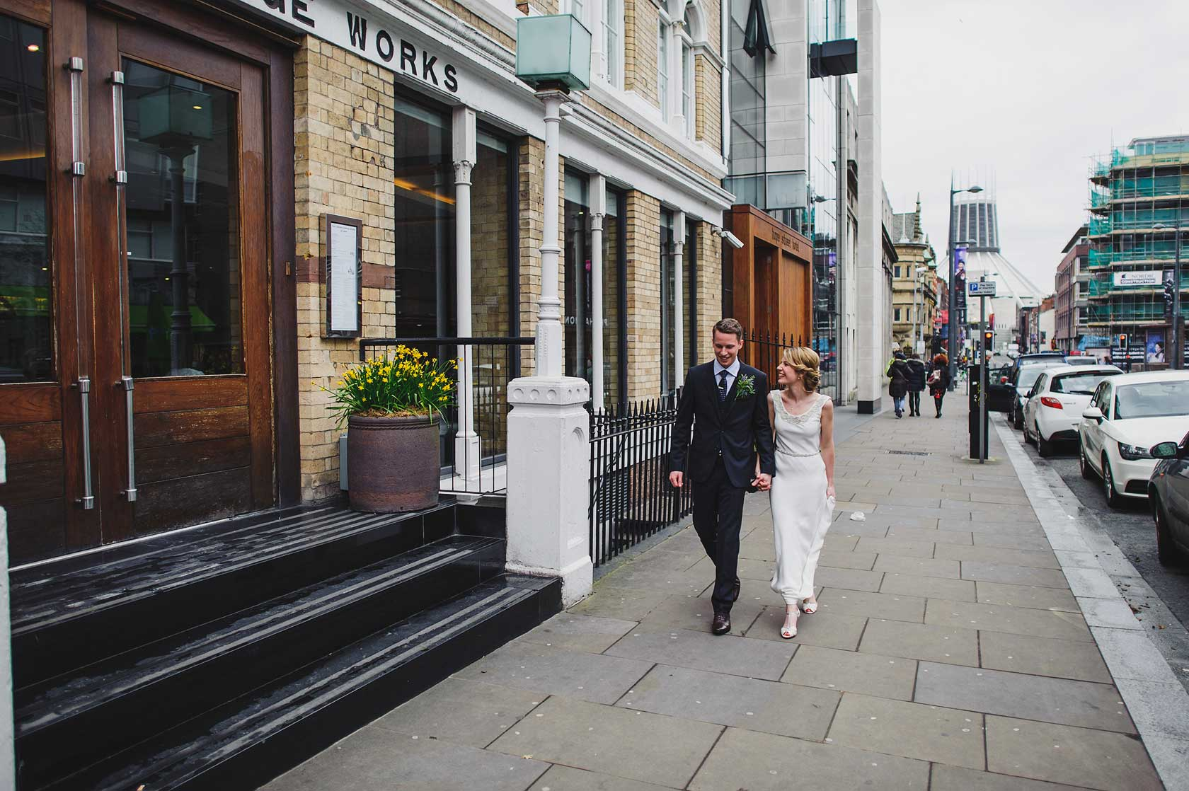 Reportage Wedding Photography at Hope Street Hotel