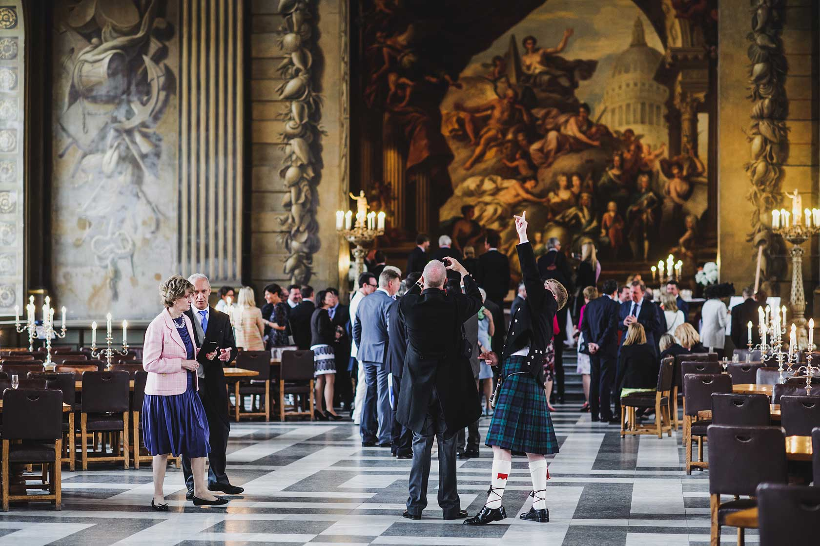 Old Royal Naval College Wedding in Greenwich