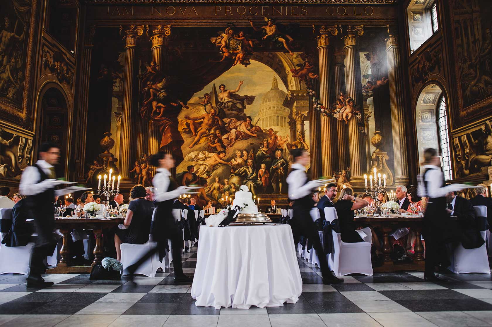 Reportage Wedding Photography at Old Royal Naval College
