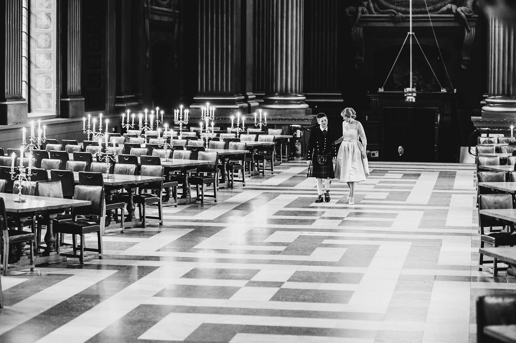 Painted Hall Wedding Photography